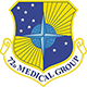 Logo: 72d Medical Group - Tinker Air Force Base